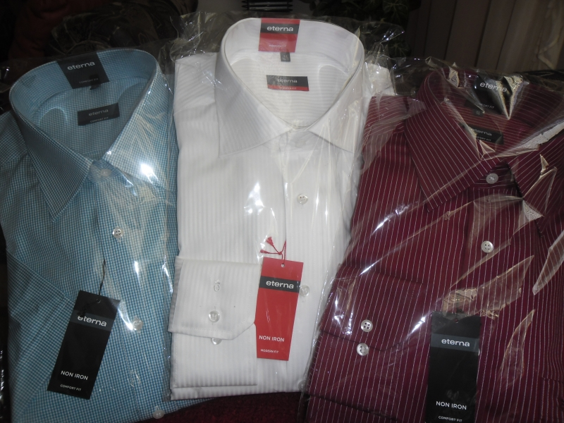Predám kvalitné značkové košele značka Eterna - Pánske oblečenie ... 8e9c7cb200d