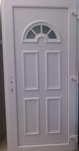 Plastové dvere vchodové cena