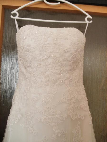 Predam luxusne svadobne saty (kremove) - Svadobné šaty - bazar ... 5228f606cd9