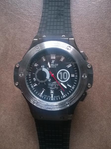 ac13e3b8f predam uplne nove panske naramkove hodinky znacky HUBLOT - Hodinky ...