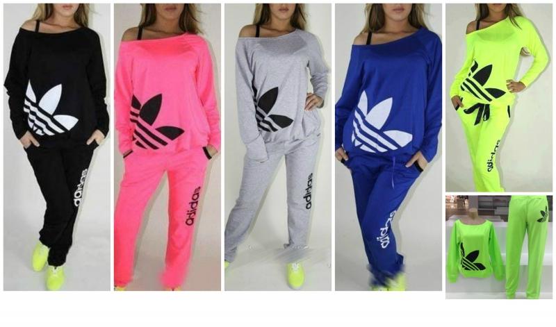 048bdde11c59a Dámska tepláková súprava Adidas rôzne farby - Dámske oblečenie ...