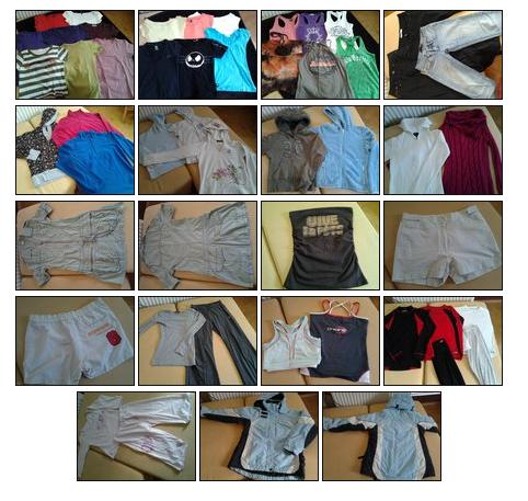 9346ff8129d6 Predám balík oblečenia (49ks) pre dievča v.140-164cm - Komplety ...
