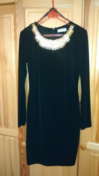 809c44d3843d Predám dámske koktejlové šaty Calvin Klein. Úplne nové - Dámske ...