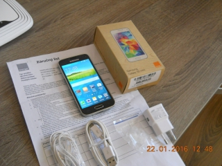 samsung galaxy S5mini,komplet,zaruka-top stav!