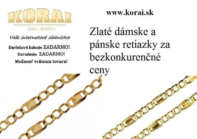 9067e3225 Zlaté retiazky KORAI - Šperky - oblečenie - bazar - MAXbazar.sk